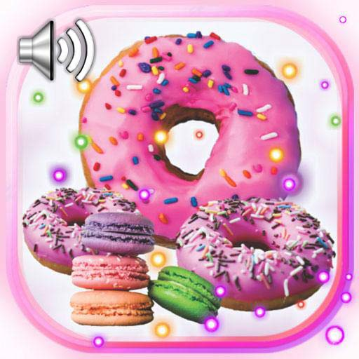 Macaroons and Donuts Live Wallpaper