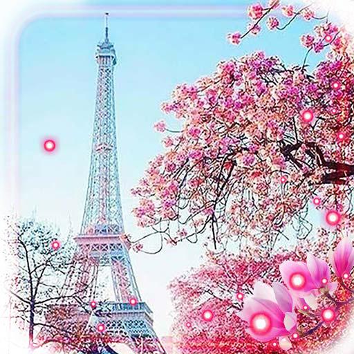 Pink Paris Live Wallpaper
